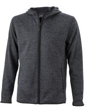 Men`s Knitted Fleece Hoody