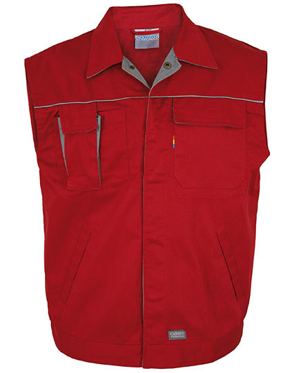 Contrast Work Vest